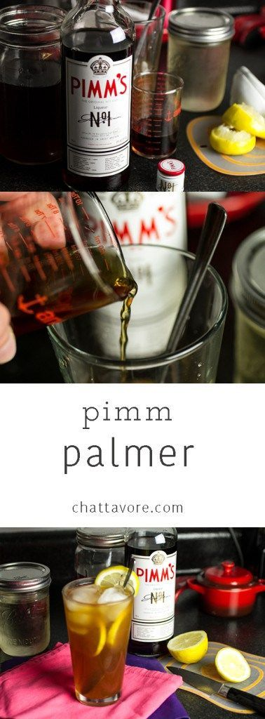 The Pimm Palmer is a delicious cocktail perfect for a warm spring day! | drink recipe from Chattavore.com (scheduled via www.tailwindapp.com)