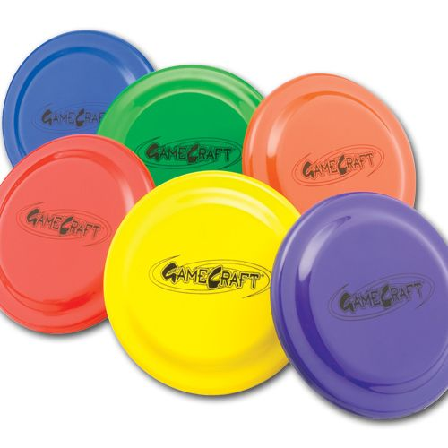 """Gamecraft 9"""" #Plastic #Flying #Discs #Set of 6 More #fun for the money than any other #game Classic dome profile for accurate throws and easy catching."""