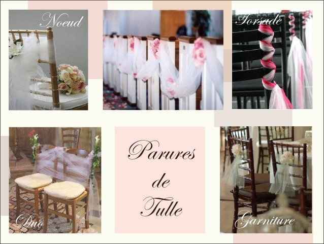 decoration chaise mariage tulle noeud: Wedding Idea, Project, Our Wedding, Dream Wedding