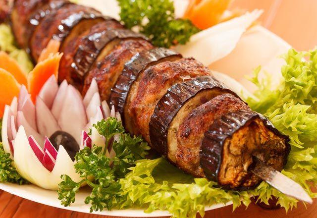 Gaziantep Usulü Patlıcan Kebabı