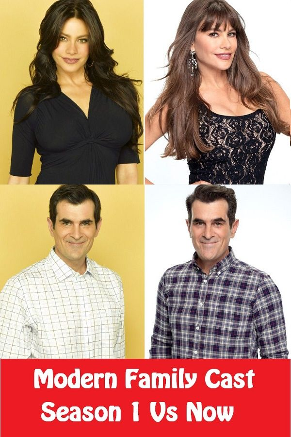 Modern Family Cast Then And Now Photos Modern Family Then And Now Photos It Cast