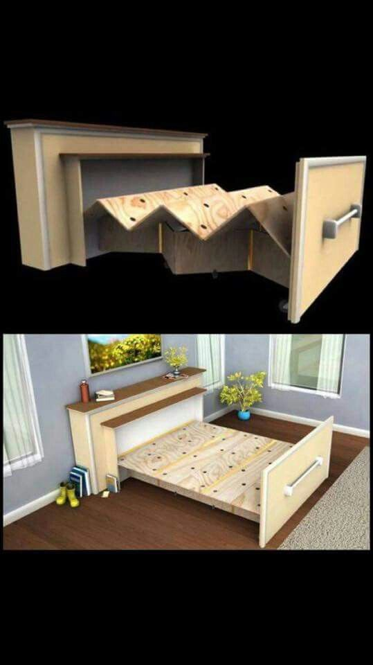 Is it weird that I want this for my grown up bedroom? Just think of all the room for activities