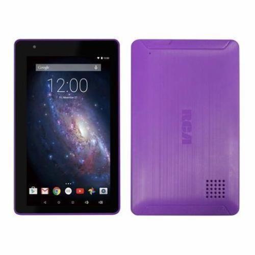 "RCA Android Tablet 16GB 7"" 1.3GHz Quad Core Processor Lollipop New Purple  #RCA"