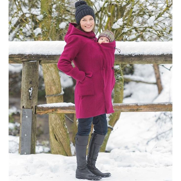 The Mamalila Wool Hooded Babywearing Coat is a super-stylish, super-versatile coat, allowing you to look good together. Your Wool Coat can be used during pregnancy, when baby carrying or even without a baby!