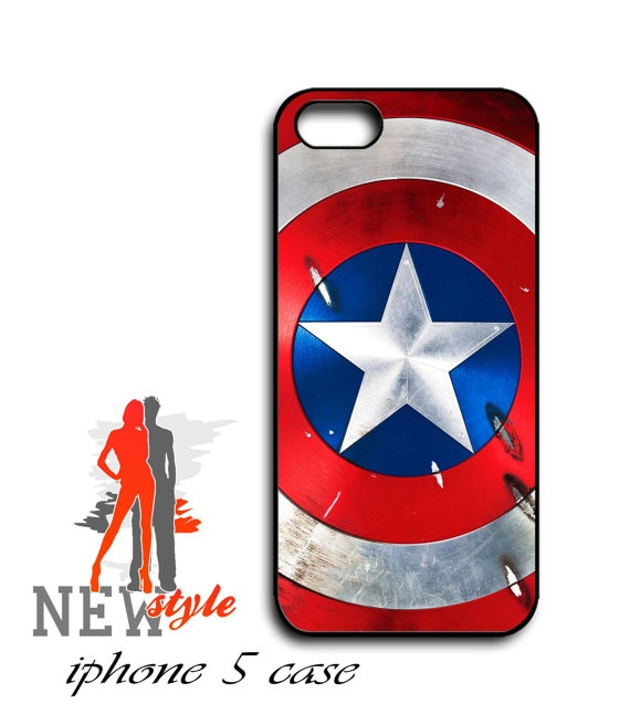 iphone 5 case  Captain America Shield The Firsr by NewStyleDesign, $16.00