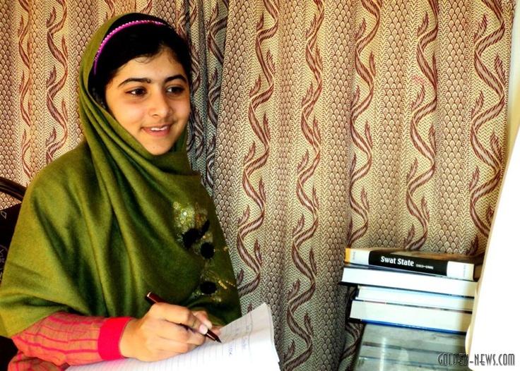 """На данный момент больше всех симпатий и наименьшее число голосов """"против"""" на присуждение номинации """"Человек года"""" по версии журнала #Time собрала 15-летняя пакистанка Малала Юсуфзай ( #Malala #Yousafzai)."""