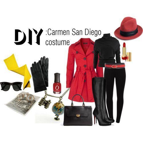carmen sandiego costume - Google Search