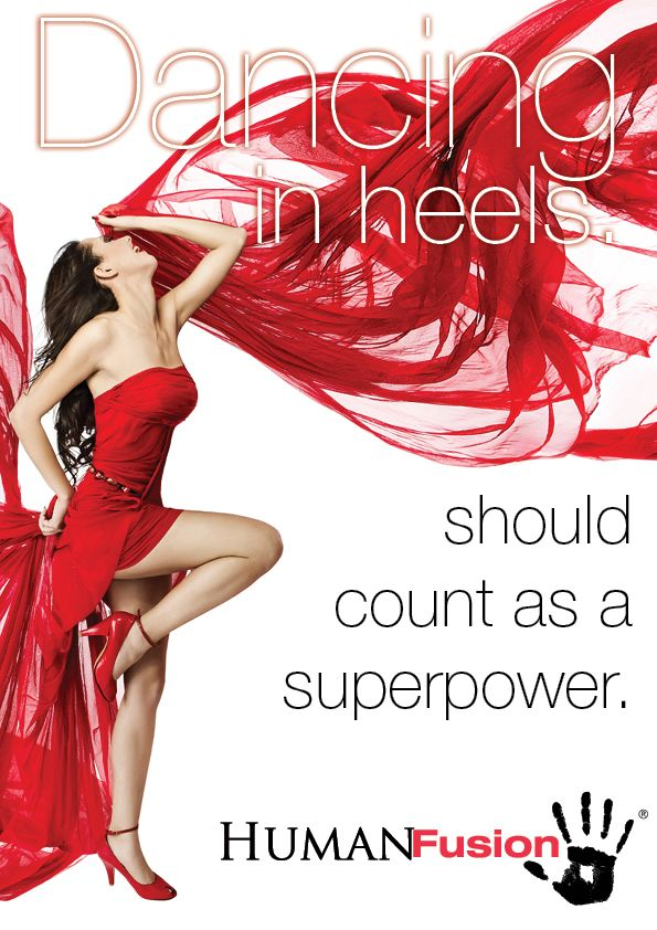 Heels should really be a superpower!