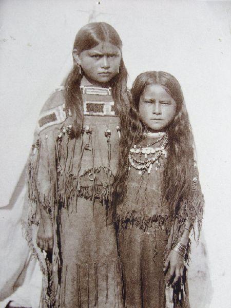 Creek native american children