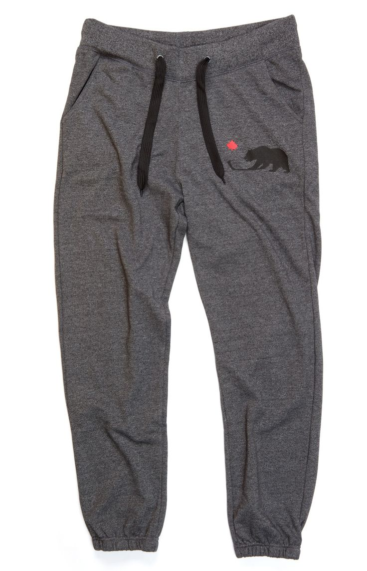 Oldie But A Goodie Grey Hockey Joggers Sweat Pants - Gongshow Gear - Lifestyle Hockey Apparel