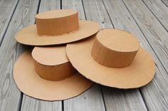 Make your own hats, great for costumes! So many types...