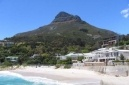Enjoy spectacular views of Lion's Head looming over Glen Beach at Glen Beach Penthouse | Camps Bay