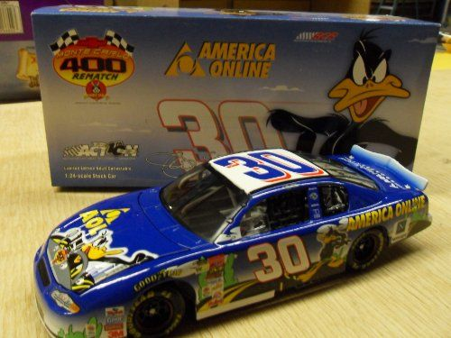 1:24 Jeff Green #30 AOL Looney Tunes Monte Carlo 400 Rematch 2002 Die-Cast Stock Car Collectible @ niftywarehouse.com