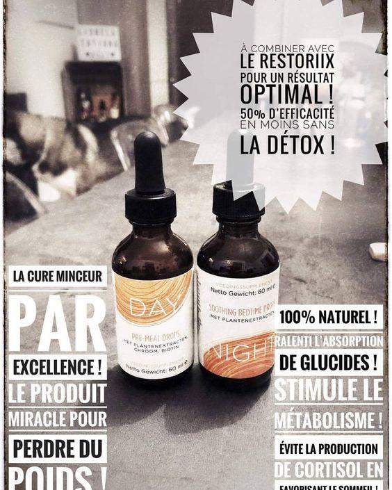 Gouttes Day and Night   Detox naturel, Détoxification ...