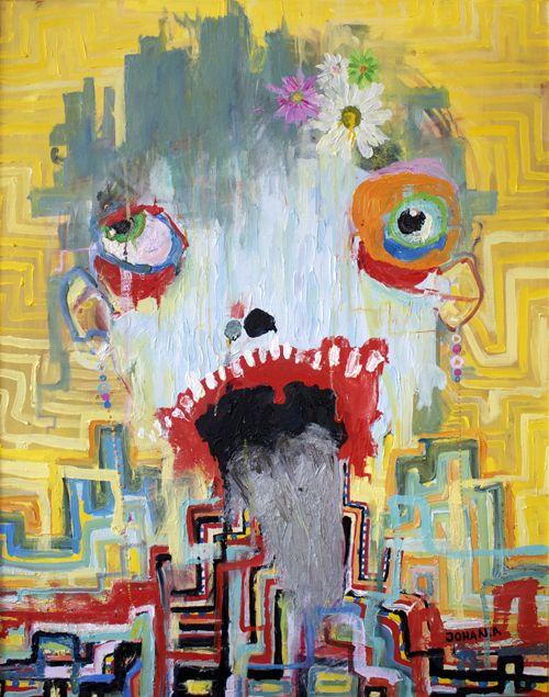 Fine Art Print: Blunda tills det svider. www.johanadamsson.se