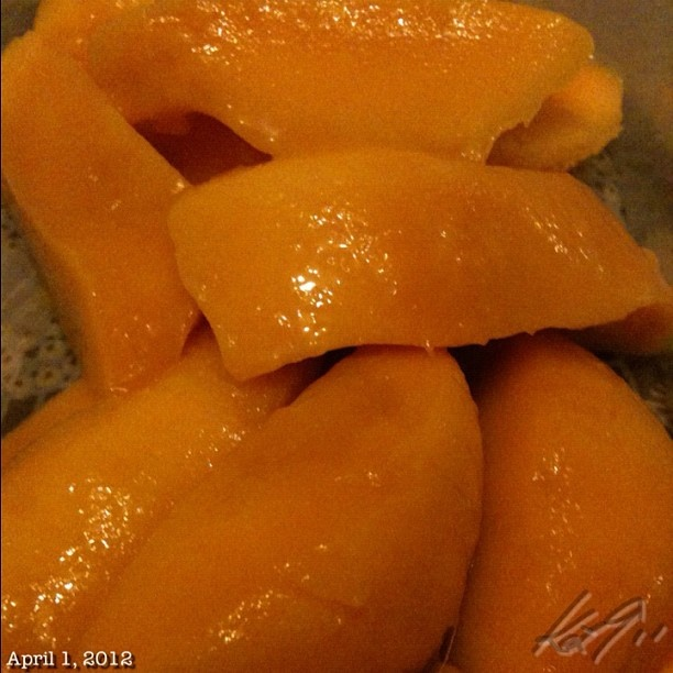 Mangos my favorite fruit