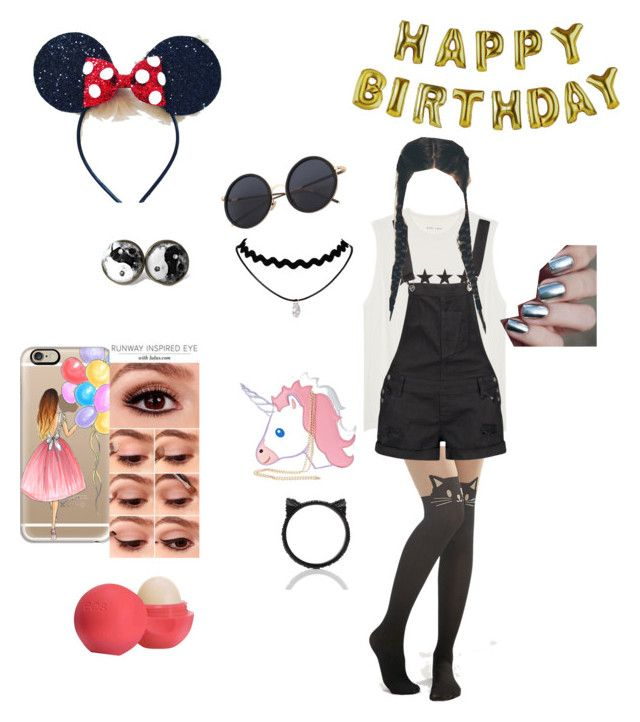 """HAPPY BIRTHDAY COURTNEY!"" by babycomics on Polyvore featuring Casetify, Talking Tables, Leg Avenue, Boohoo, Eos, Nila Anthony and Kate Spade"