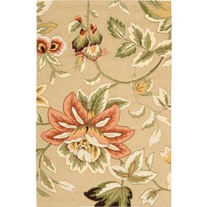 Nourison Floral Images French Country Rug pretty in bedroom. 5x7 $ 204