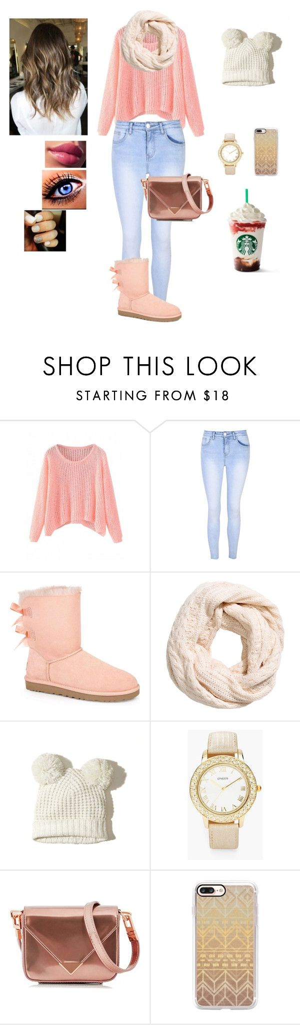 """seasonal"" by official-bria-j ❤ liked on Polyvore featuring Glamorous, UGG Australia, Hollister Co., Chico's, Alexander Wang and Casetify"