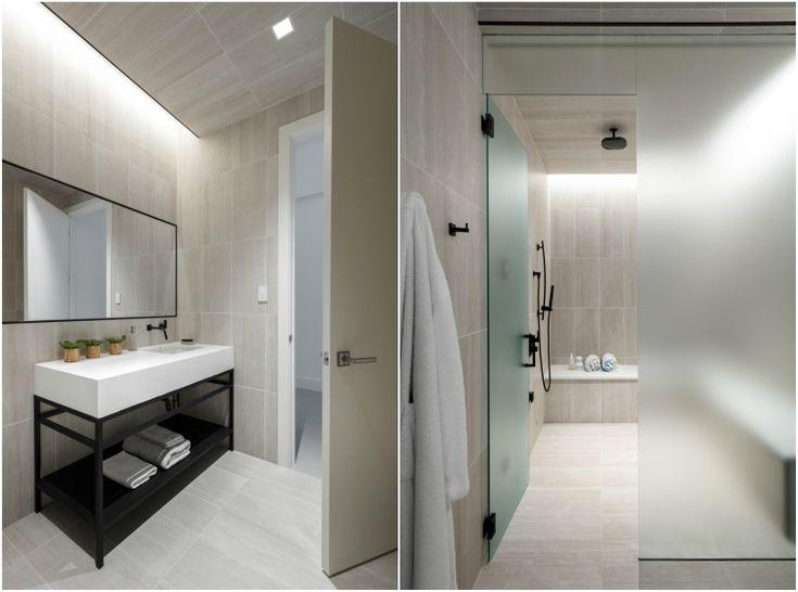 554 best Wandgestaltung images on Pinterest - badezimmer modern grau