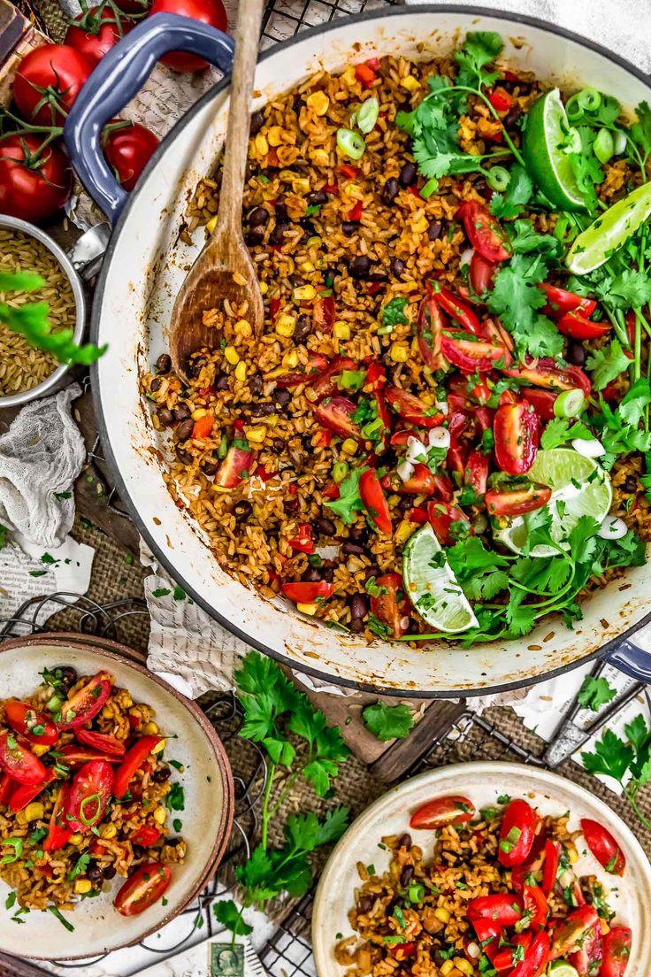 Tex-Mex Spicy Veggie Rice