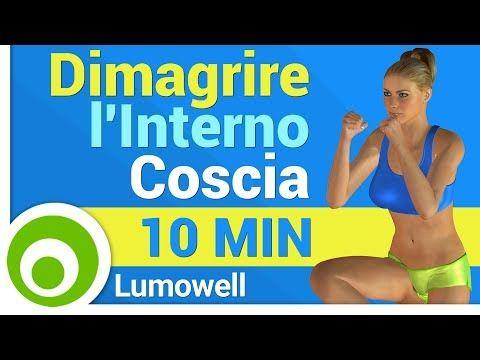 Dimagrire l'Interno Coscia - YouTube
