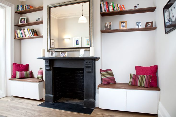 Seating #shelves #mirrors #Solakitchens