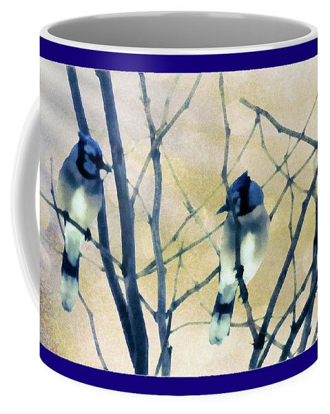 Double Trouble Coffee Mug by Leslie Montgomery.  Small (11 oz.)
