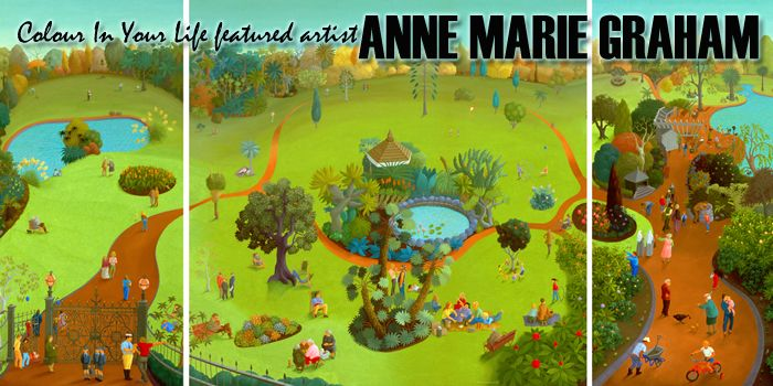Featured Artist Anne Marie Graham Home Page Banner