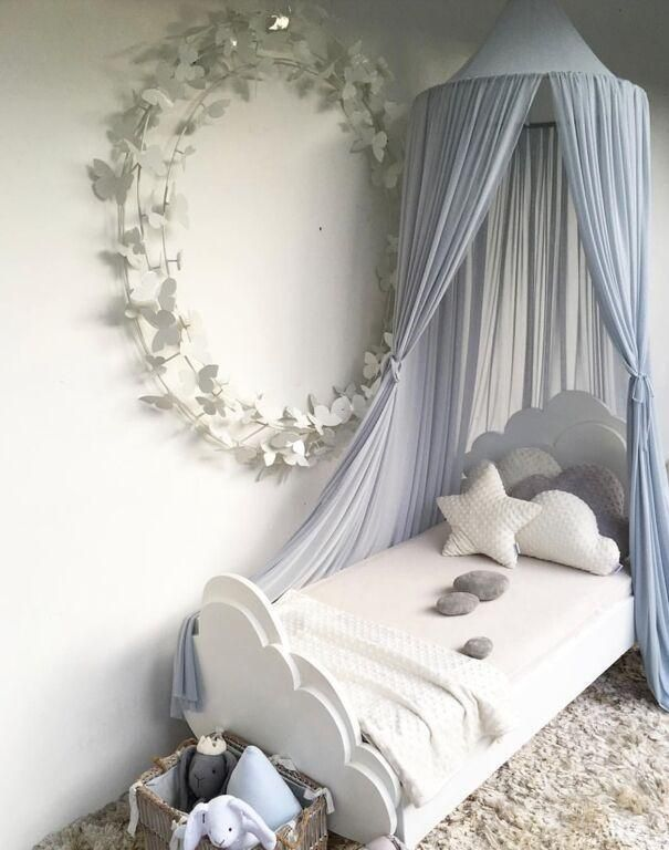 princess canopy mosquito net curtain girls babies toddlers kids room rh pinterest com