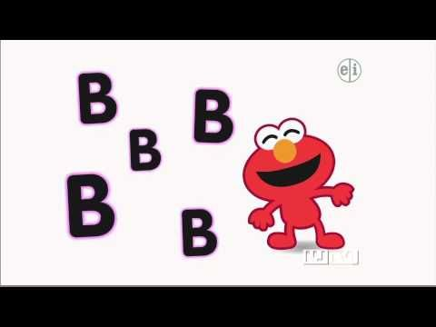 Elmo sings about the letter B - YouTube