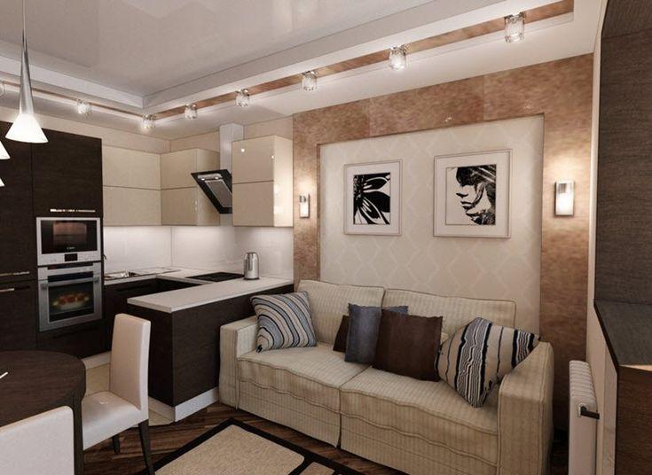 Картинки по запросу кухня гостиная 15 кв м