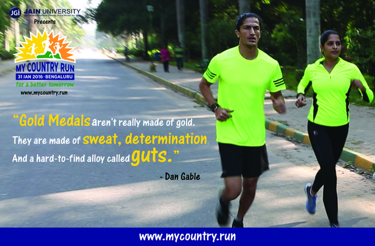 To register for #MyCountryRun click here: www.mycountry.run  Be the part of Bangalore's Electrifying Run. For a Better Tomorrow.