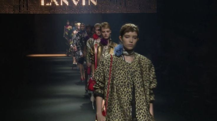 Lanvin Spring 2016 Ready-to-Wear on video.vogue.com