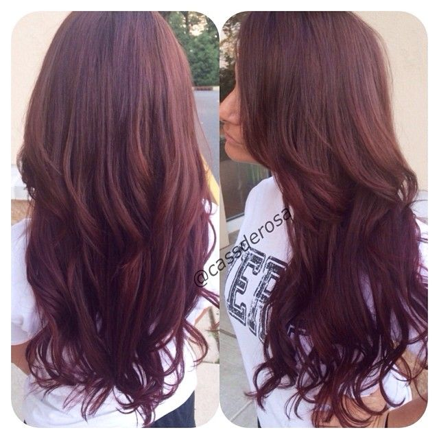 images about Mahogany Hair on Pinterest | Mahogany hair, Mahogany hair ...