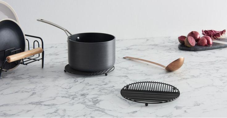 AFFILIATELINK | 2x Gulli Untersetzer, schwarz | Skandinavisch, Design, Mini …   – Küche | DIY, Deko und Einrichtung