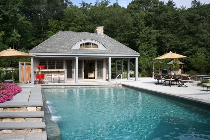 Pool Cabana In Massachusetts Google Search Pool House