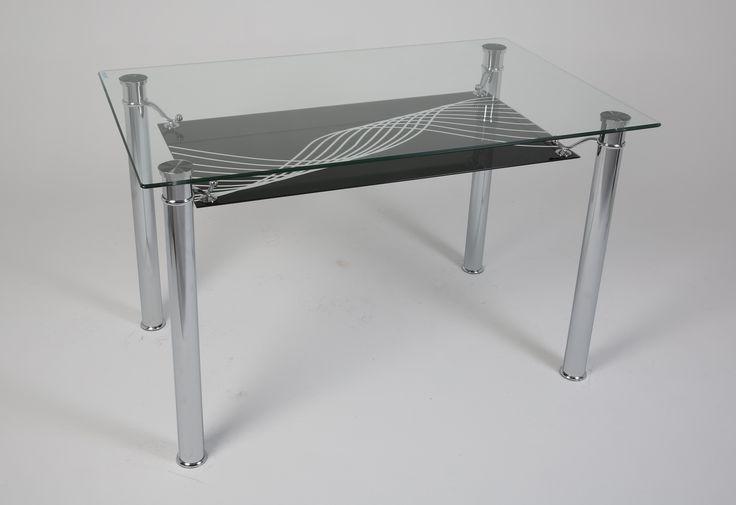 Ürün Kodu: 151 Siyah Meltem (İsteğe göre farklı renkler yapılabilmektedir) Glass Table - Cam Masa - Furniture - Mobilya