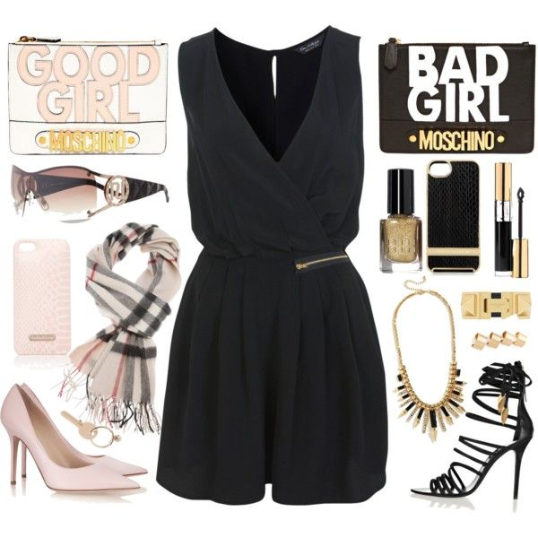 """good girl or bad girl""celidalovespink on polyvore"