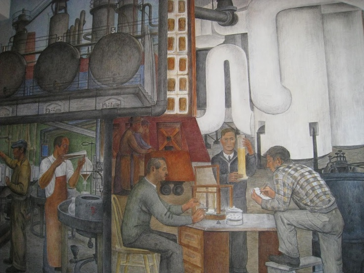 116 best images about murals on pinterest post office x for Coit tower mural