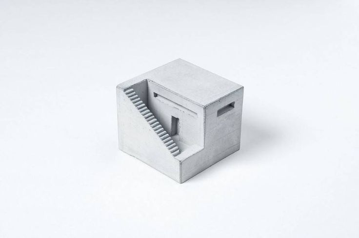 Miniature Concrete Buildings – Fubiz Media