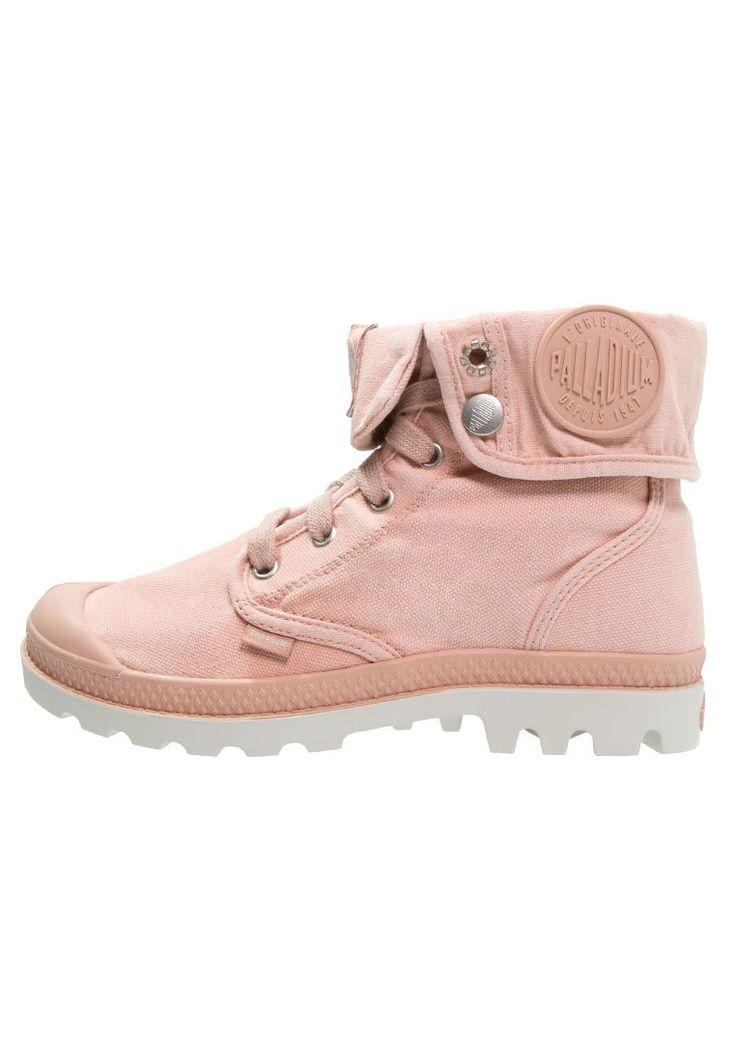 Palladium BAGGY Ankle boot salmon pink/silver birch