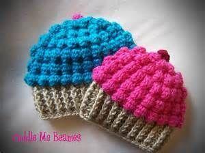 Free Crochet Cupcake Hat Patterns - Patterns Kid