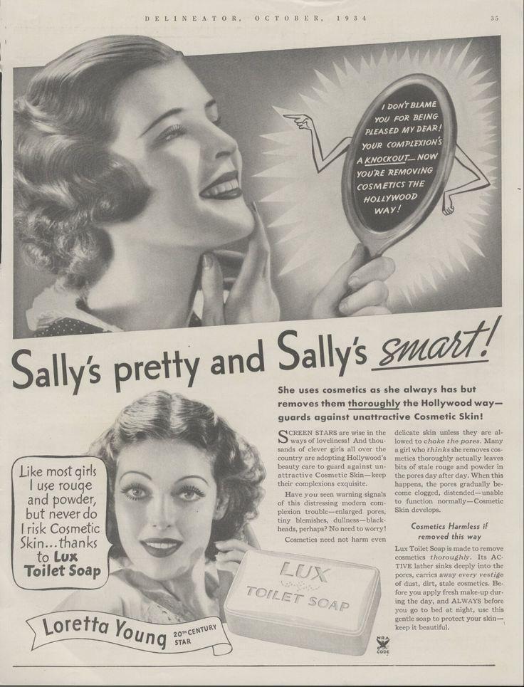 0 loretta young 1934 Lux Soap Ad
