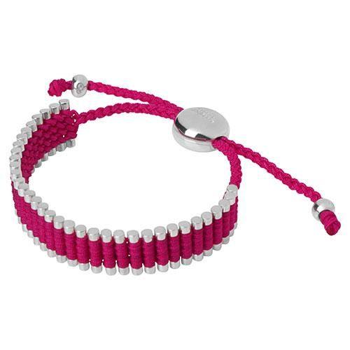 Links of London Hot Pink Friendship Bracelet - £140.00