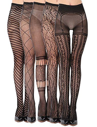 Annisking 5Pair Leggings Fishnet Stockings Tights Pantyhose Suspender TOtala107 *** Click image for more… - https://sorihe.com/fashion01/2018/02/28/annisking-5pair-leggings-fishnet-stockings-tights-pantyhose-suspender-totala107-click-image-for-more/