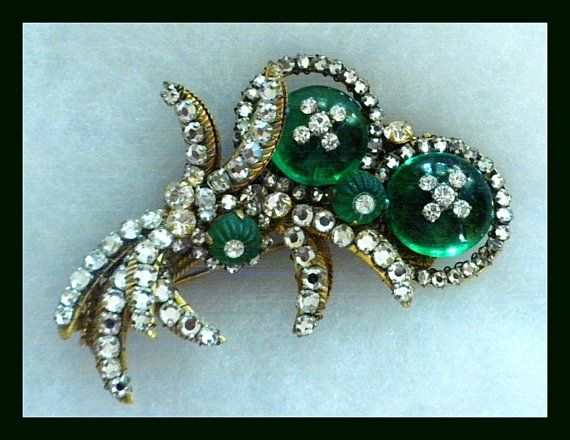 Miriam Haskell Spectacular Rare Brooch NEW PRICE by FineThingsShop