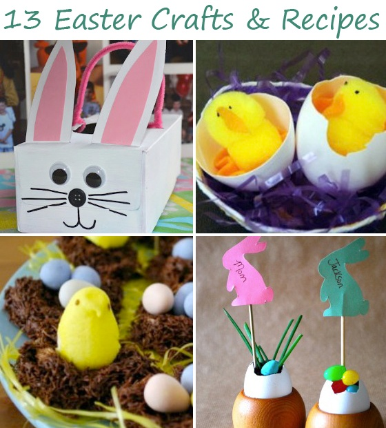 13 DIY Easter Crafts and Recipes