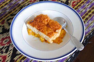 Невыразимая легкость кулинарного бытия...: Персиковый коблер