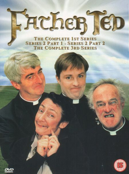 Father Ted. Yep - own the entire series. Somehow it makes me feel good about my workplace.